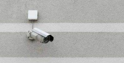 CCTV on the wall
